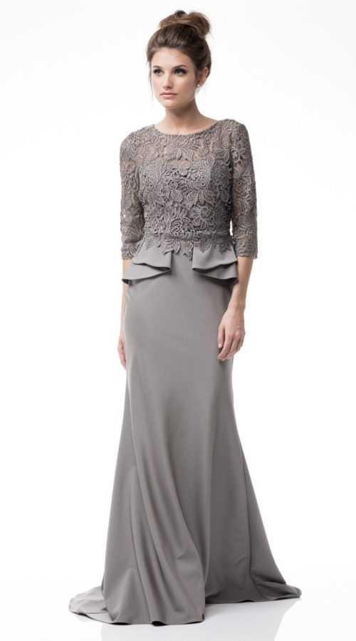 Silver Mother Of The Bride Dress Shangri La Dresses